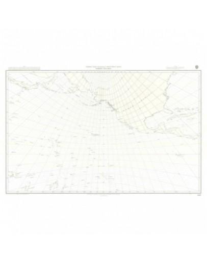 5097 - Gnomonic Chart North Pacific Ocean