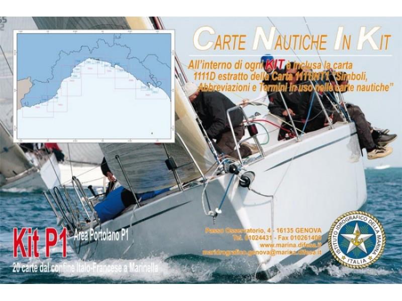 Kit P1 - Dal confine Italo-Francese a Marinella