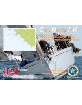 Kit P2B - Dall'Isola di Montecristo a Capo Circeo