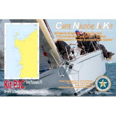 Kit P3C - Da Punta sa Calada a Cala Sarraina