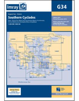 G34 - Southern Cyclades (East Sheet)