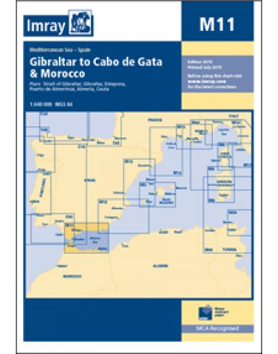 M11 - Gibraltar to Cabo de Gata and Morocco