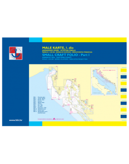 MK-I - Male Karte 1 - Dal Golfo di Pirano a Zara (Piranski Zaljev – Zadar)