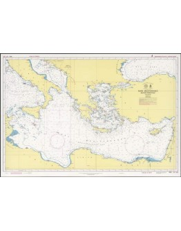 350 - Mare Mediterraneo - Bacino Orientale
