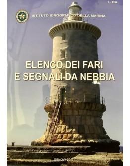 I.I.3134 - ELENCO UNICO DEI FARI E SEGNALI DA NEBBIA