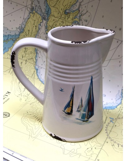 Pitcher with Sailing