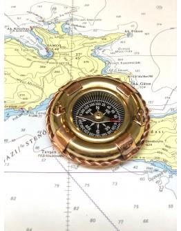 Brass/Copper  Compass
