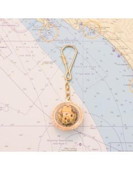 "Keyrings ""Globe"""
