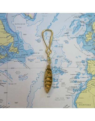"""Keyring """"Ligurian Fishing Boat"""""""