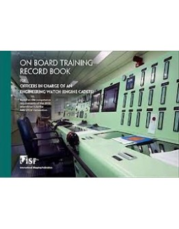 On Board Training Record Book Engine Cadet