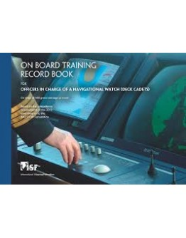 On Board Training Record Book Deck Cadet
