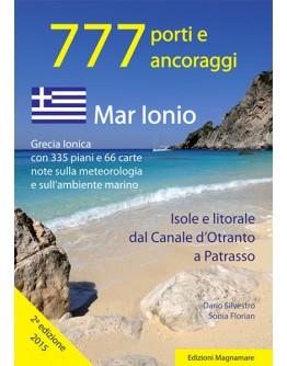 777 - GRECIA MAR IONIO - Isole e litorale dal Canale d'Otranto a Patrasso