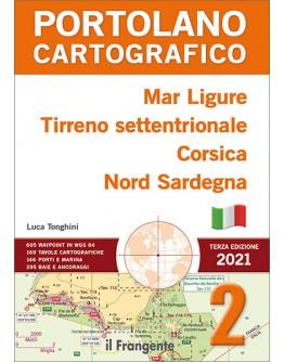 PORTOLANO CARTOGRAFICO 2 ITALY & CORSICA - Ligurian Sea, Northern Tyrrhenian Sea, Corsica, North Sardinia