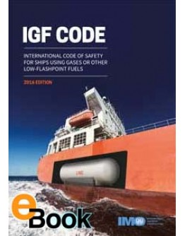 IMO K109E IGF Code - DIGITAL VERSION