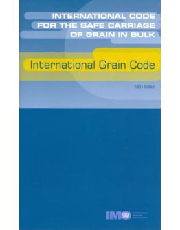 I240E - INTERNATIONAL CODE FOR THE SAFE CARRIAGE OF GRAIN IN BULK