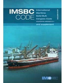 IG260E - IMSBC INTERNATIONAL MARITIME SOLID BULK CARGOES