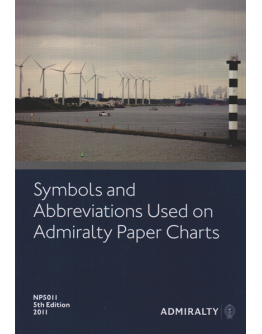 NP5011 - Symbols And Abbreviations Used On Admiralty Paper Charts