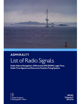 NP282/1 - Radio Aids to Navigation, Differential GPS (DGPS), Legal TIme, Radio Time SIgnals and Electronic Position Fixing System - Volume 2 part 1