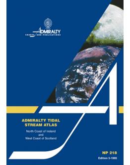 NP218 - Tidal Stream Atlas: North Coast of Ireland and West Coast of Scotland