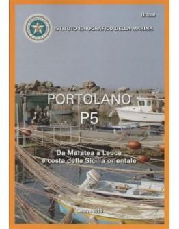 I.I.3205 - PORTOLANO Vol. P5 da Maratea a Leuca e costa della Sicilia orientale