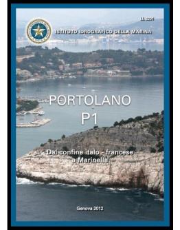 I.I.3201 - PORTOLANO Vol. P1 dal confine italo - francese a Marinella