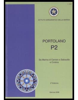 I.I.3202 - PORTOLANO Vol. P2 da Marina di Carrara a Sabaudia e Corsica
