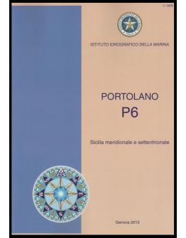 I.I.3206 - PORTOLANO Vol. P6 Sicilia meridionale e settentrionale ed Isole Maltesi