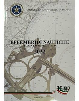 ITALIAN NAUTICAL ALMANAC - 2022 (New Ed.)