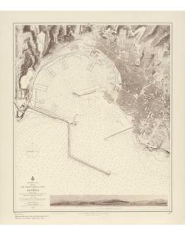 Piano del porto e della città di Genova