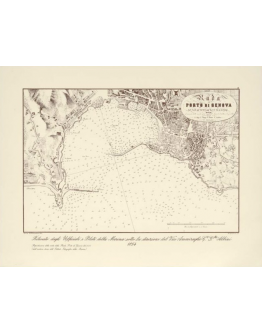Rada del porto di Genova